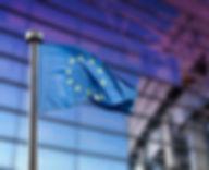 EuropeanUnionflagagainstEuropeanParliame