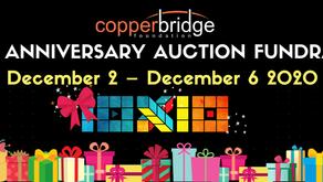 Copperbridge Foundation: 10th Anniversary Art Auction Fundraiser