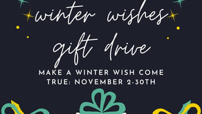 Positive Legacy Announces Winter Wishes Gift Drive