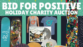 Bid For Positive: Online Holiday Auction Dec 3-6th