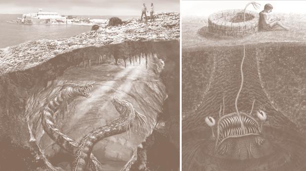 Иллюстрация Стефана Мифсуда (автора книги)