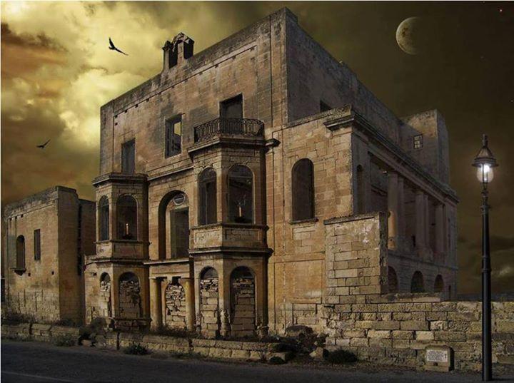 дом с привидениями Мальта