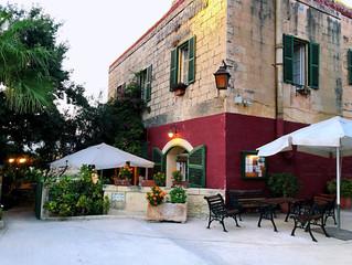 Мальта: ресторан «Ta'Cassia» залив Salina