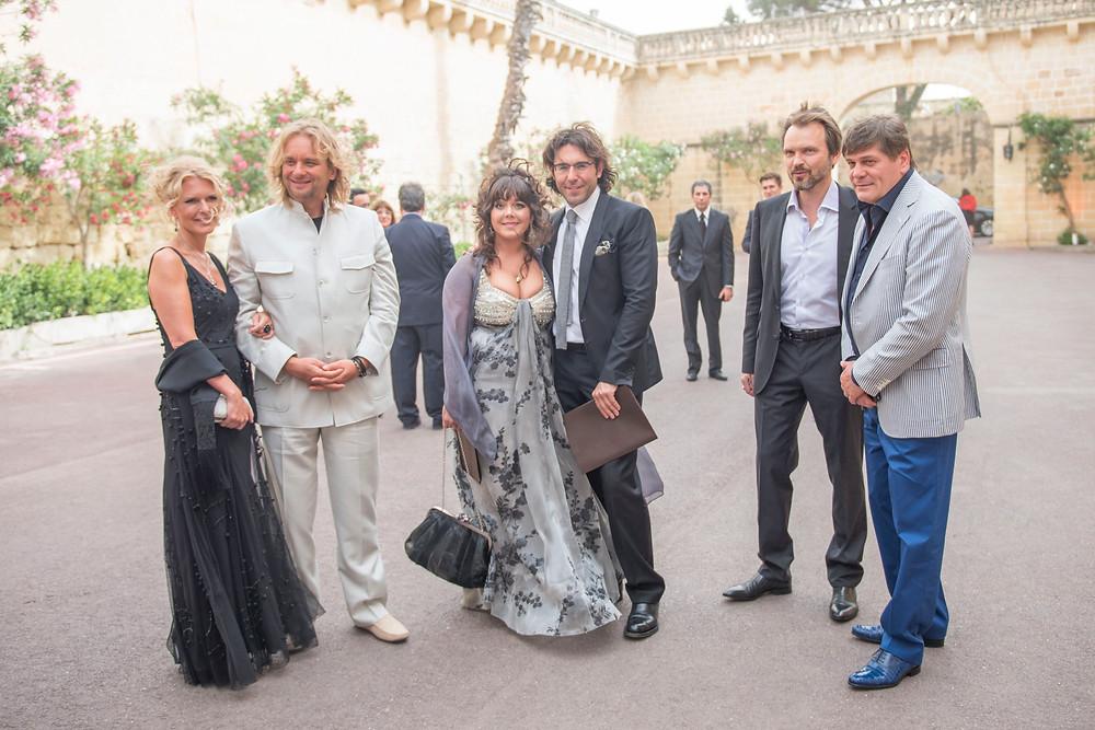Гости на открытии Русской часовни на Мальте