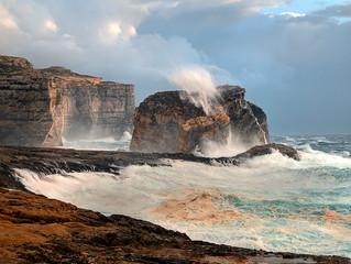 Мифы и легенды Мальты: Скала Гриб (Fangus rock)