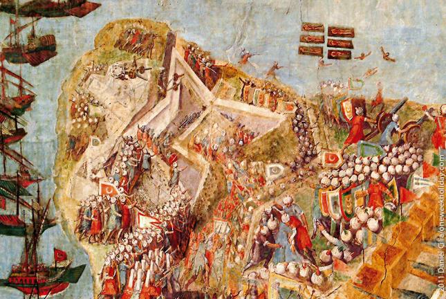 самоубийца помог выиграть битву с турками