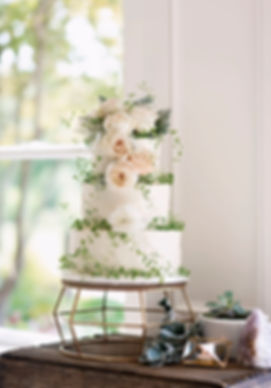 ct wedding photographer, elegant wedding cake
