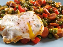 Legumes com Ovos