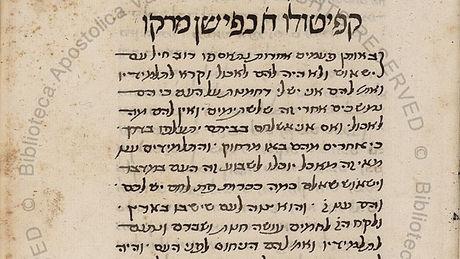 Hebrew Gospel of Mark