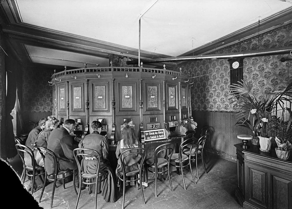 Kaiserpanorama nel Prater di Vienna nel 1900