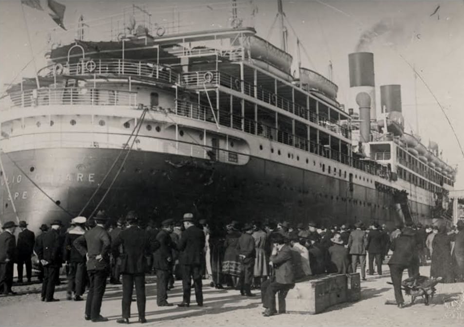 Emigrazione all'inizio del '900