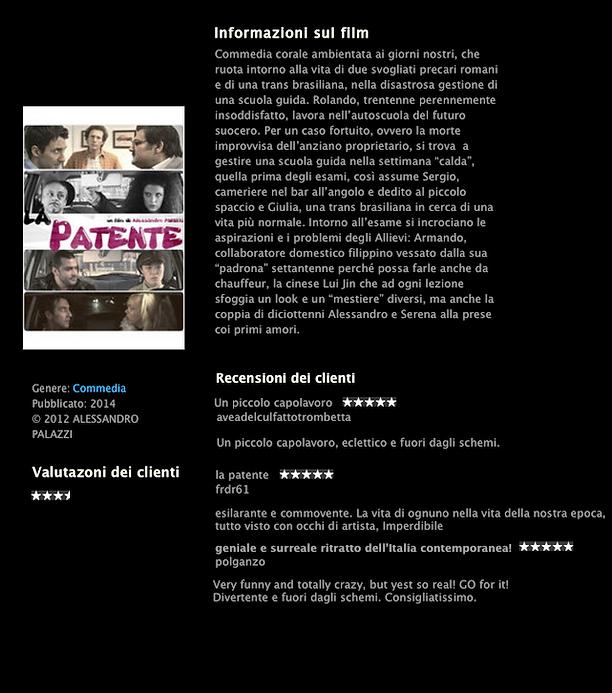 La Patente, locandina