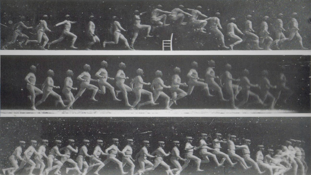 Esperimenti cronofotografici di Étienne-Jules Marey