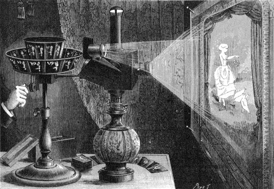 Il teatro ottico di Emile Reynaud, 1877