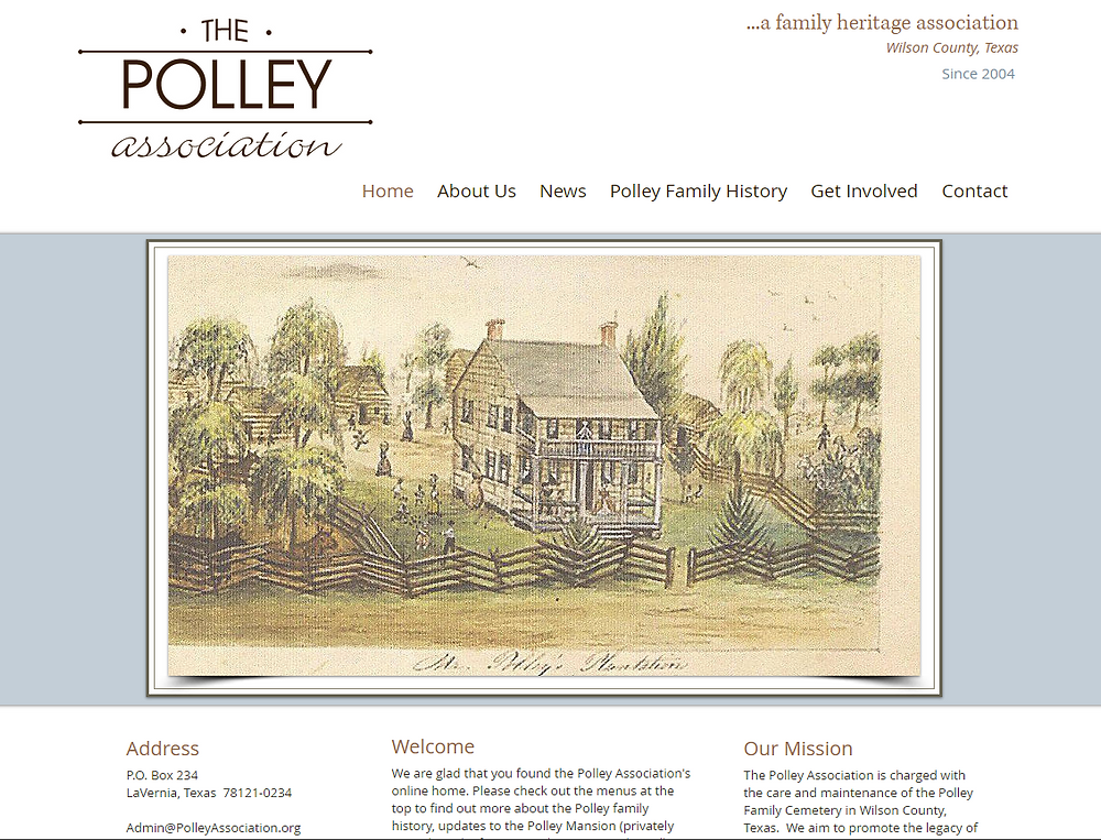 Polley Association Homepage