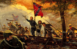 Desperate Valor by Dale Gallon Gaines Mill