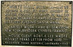 1965 Historic Marker