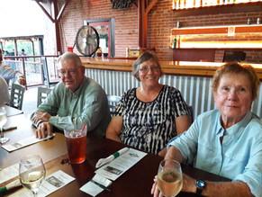 Joel Parker, Katherine Baxter, Patti Parker