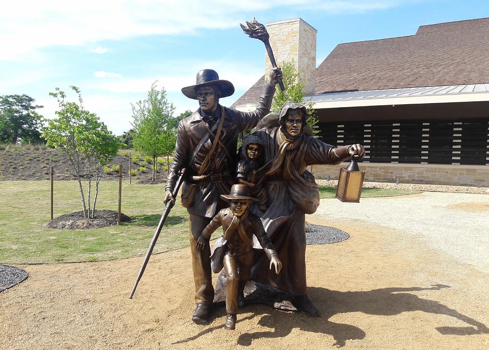 Runaway Scrape Monument at San Felipe de Austin Museum
