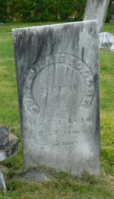 Jonathan Polley Gravestone, Whitehall, New York