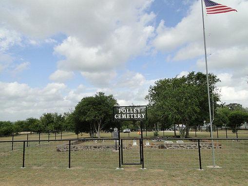 Polley Cemetery, Wilson Co., Texas