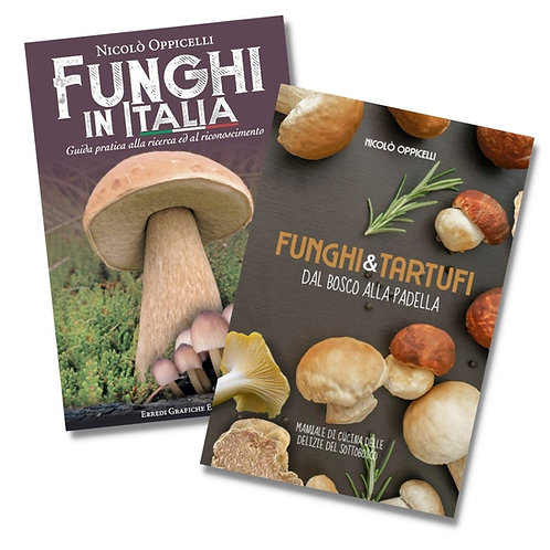 Funghi in Italia + Manuale di Cucina