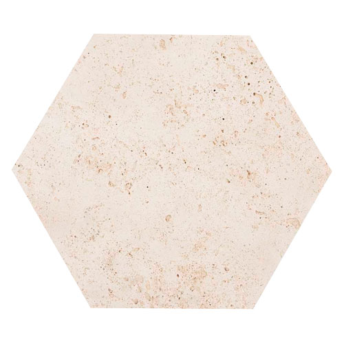 Hexagonal Travertino