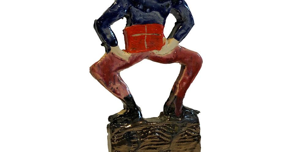 """Sculpture """"GIFT MAN"""""""