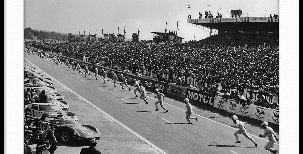 """Le Mans, Steve McQueen - Vintage Photo """"04"""""""