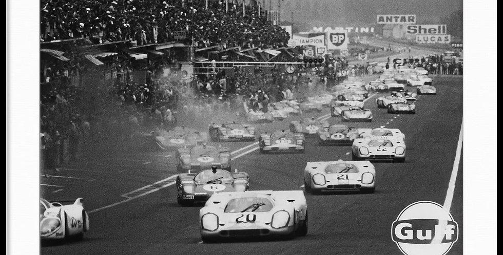 """Le Mans, Steve McQueen - Vintage Photo """"03"""""""