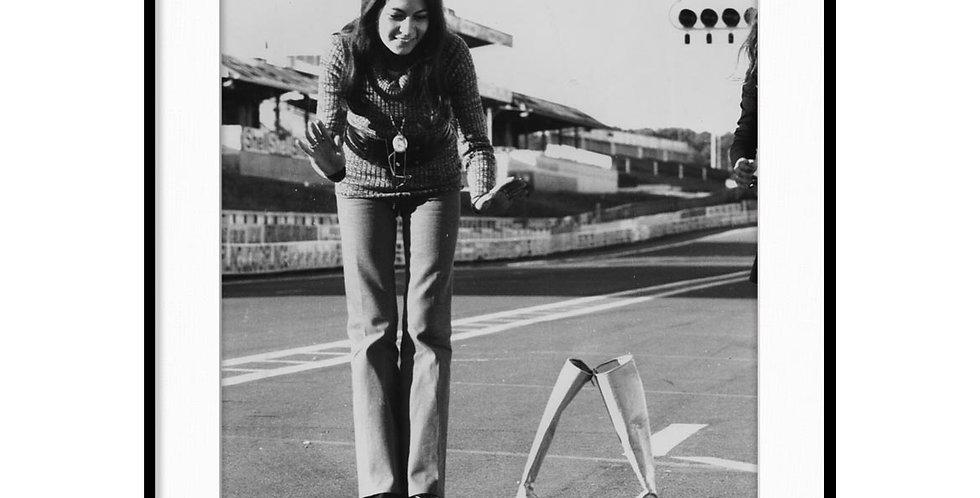 """Le Mans, Steve McQueen - Vintage Photo """"10"""""""