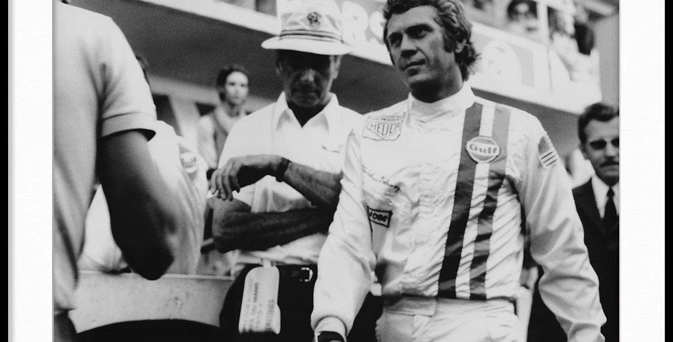 """Le Mans, Steve McQueen - Vintage Photo """"05"""""""