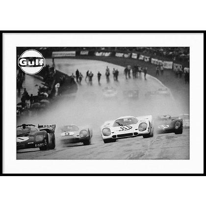 """Le Mans, Steve McQueen - Vintage Photo """"01"""""""
