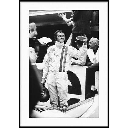 """Le Mans, Steve McQueen - Vintage Photo """"14"""""""