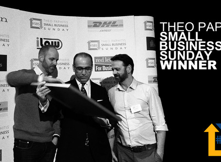 Theo Paphitis Small Business Sunday Award. #SBS