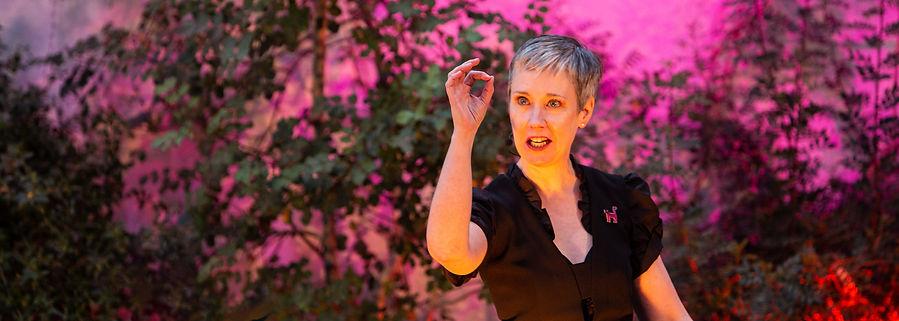 Geschichtenerzählerin Sibylle Baumann