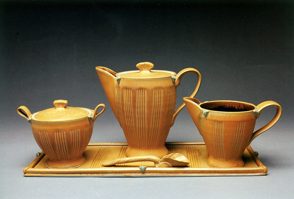 Fluted Tea Set