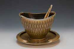 Small Serving Bowl with Spoon