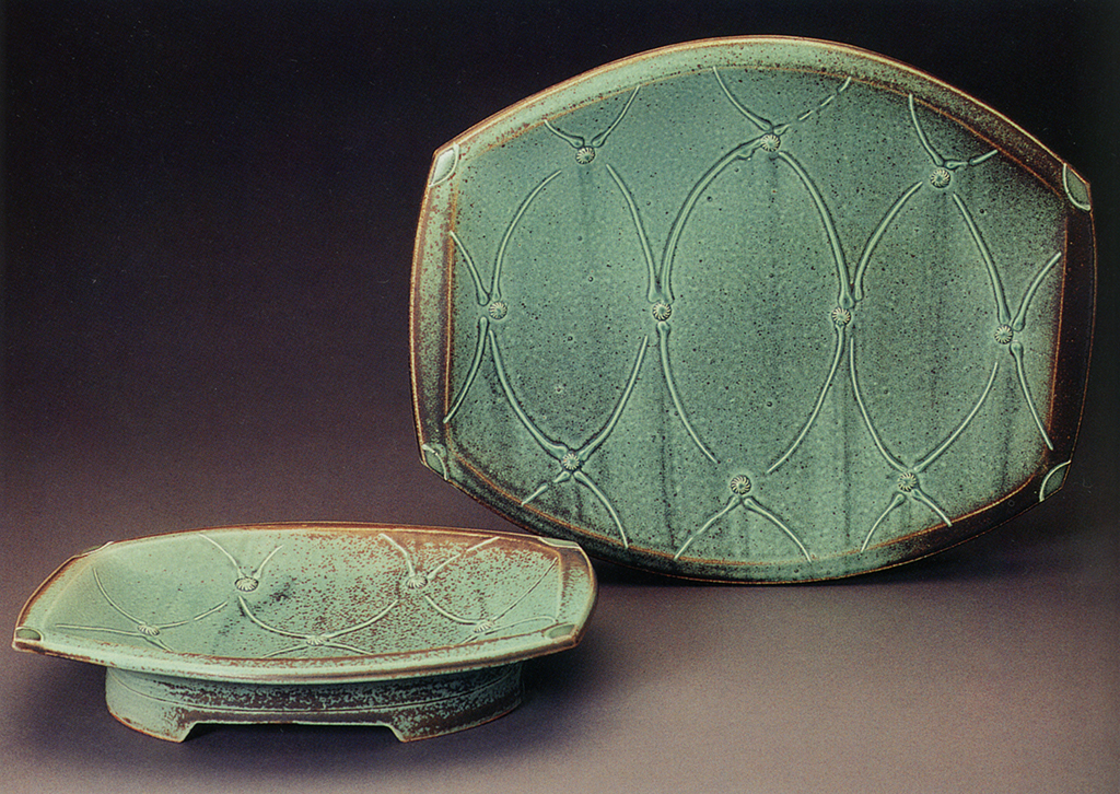Pair of Serving Plates