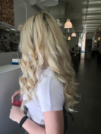 blonde light
