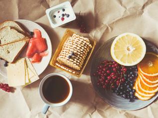 Frühstück bei der Bäckerei Kolb möglich.