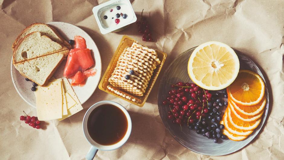 북유럽 스타일 아침식사