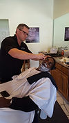 Get a hot shave at 9th Ave Barber Shop in St Pete, FL