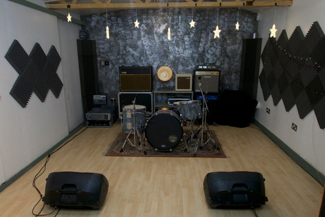 Rehearsal + Live Space with full PA system and backline