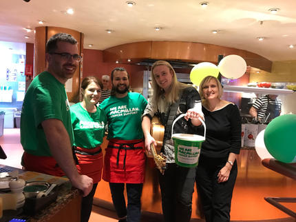 Pizza Express & Macmillan Cancer Support Event