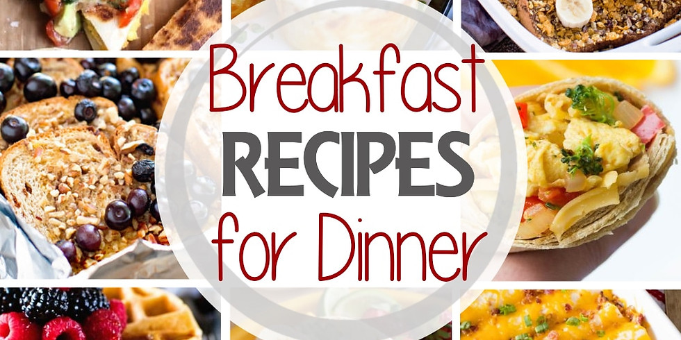 Recipe Club does Breakfast for Dinner!