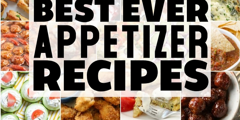 Recipe Club does Favorite Appetizers!