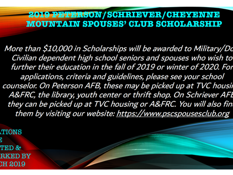 Time to Apply for Scholarships!