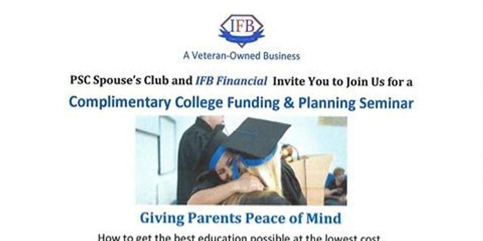 College Funding & Planning Seminar