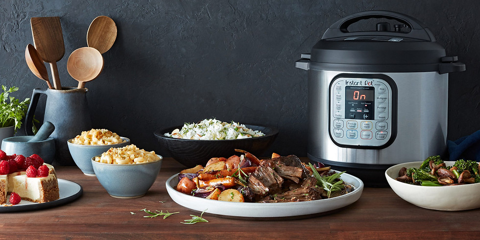 Recipe Club does Pressure Cooking!